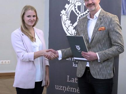 """SIA """"LBRA"""" kļūst par Latvijas Tirdzniecības un rūpniecības kameras biedru!"""