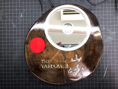 手作り(6) 世界に一つだけの「山崎」ディスプレイ台