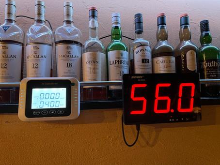 デジタル騒音計>CO2濃度測定器