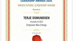 Empower wins Green leadership award