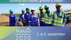 Join the Norfund Conference 2020 – Building back cleaner, greener and better.
