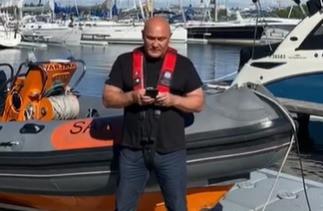 Saatesanat Oulun meripelastajille tärkeässä tehtävässä juhannuksena 2021