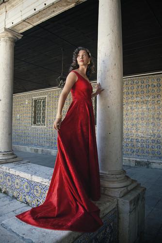 Vestido Noiva Vermelho