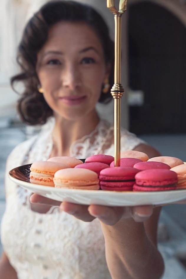 Macarons para uma noiva gulosa!