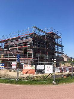 werken nieuwbouw Destelwijk stelling