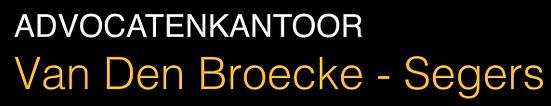 Advocatenkantoor Van Den Broecke - Segers