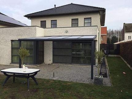Aluminium Terrasoverkapping op maat in Lommel, Limburg