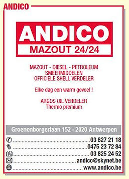 andico mazout leveren wilrijk