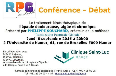Conférence - Débat