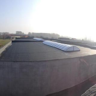 PIR-isolatie en Roofing Soprema - Banden Raymaekers Zepperen