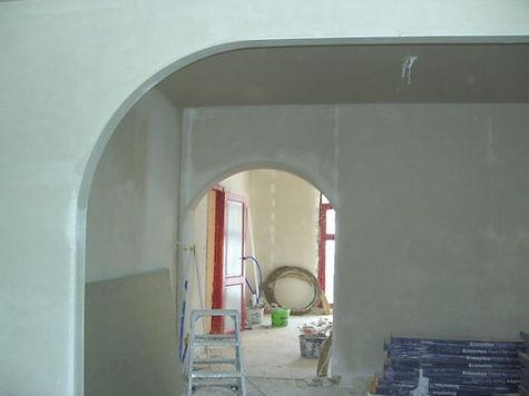 Pleisterwerken en cementering