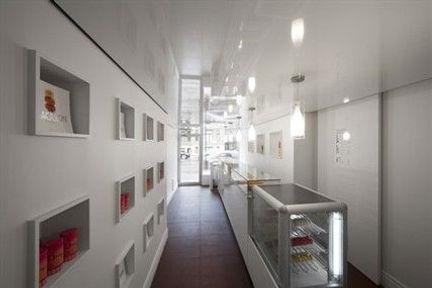 Plafond tendu dans une galerie