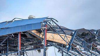 afbraak van metalen constructies