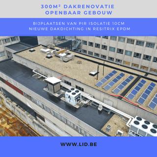 2021 openbaar ziekenhuis EPDM resitrix PIR