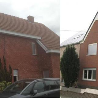 Koramic Langenzenn dakpannen en Sidings Eternit - woning Budingen