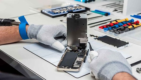 herstelling smartphones en tablets