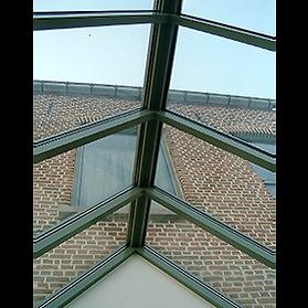koepel veranda aluminium renovatie Aarschot