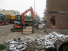 afbraakwerken grondwerken Limburg