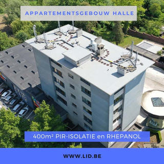 Appartementsgebouw Halle