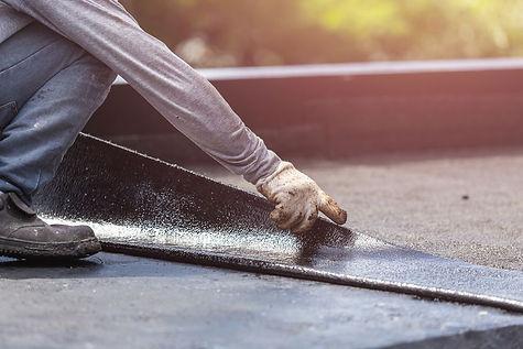 Dakwerken op plat dak door ASDP uit nijlen