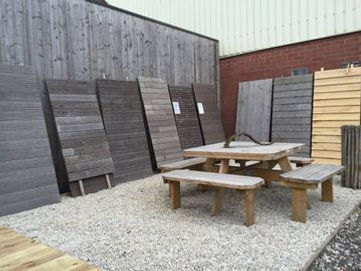 houten platen tuin broechem - ranst - Antwerpen
