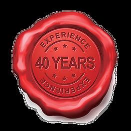 40 Jaar ervaring