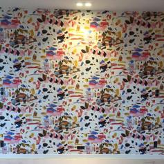 Behangwerk moderne stijl Grembergen
