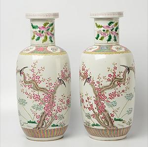 Aankoop chinese vazen, Stampart Antiquair, Chinees porselein, vazen chinees