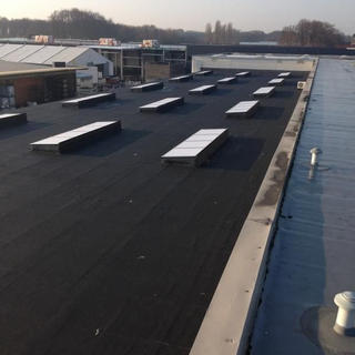 PIR-isolatie en roofing Soprema - BCM Wilrijk