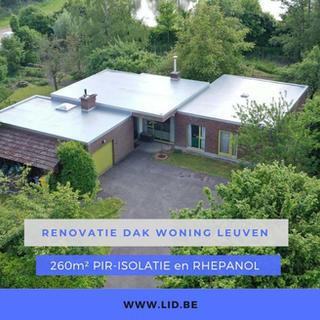 Renovatie dak woning Leuven
