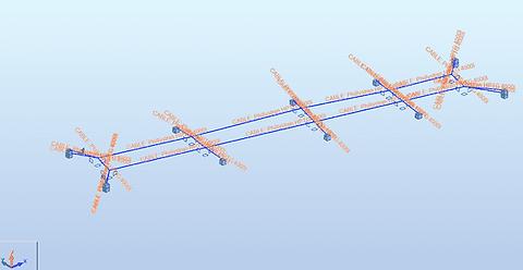 3D rekenmodel in RSA Professional voor Besix - Van den Berg