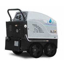 Hogedrukreiniger warm water LUX PVC