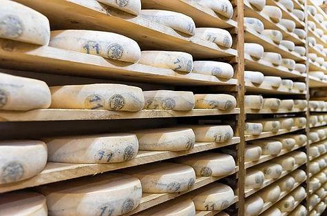 opladen van kaas via houten paletten