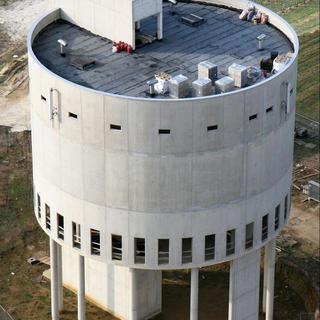 Foamglas en EPDM Resitrix - watertoren Meensel-Kiezegem