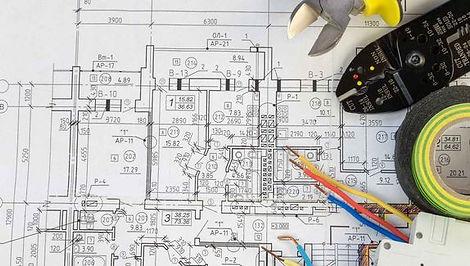 MAWED ELECTRO situatieplan / eendraadschema