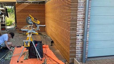 timmerwerken uitgevoerd door AW Construct