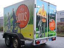 Beletteren bestelwagen Lommel