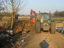 Rioleringswerken grondwerken Limburg