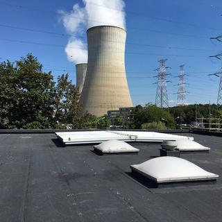 Renovatie plat dak - Kerncentrale Tihange