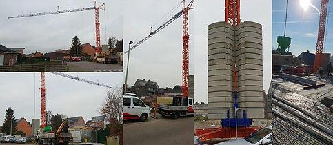 Nieuwe bouwkraan E47 Eco City