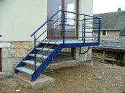 Escaliers métallique