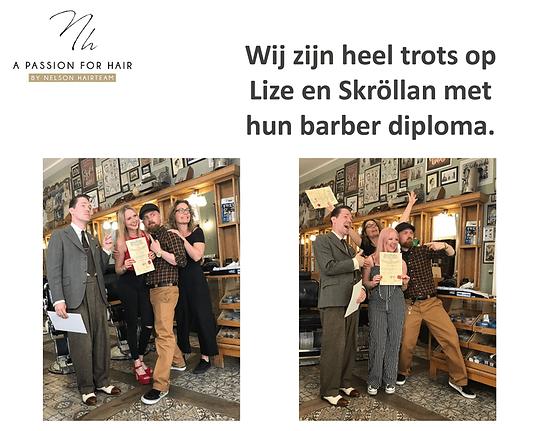 Barber diploma