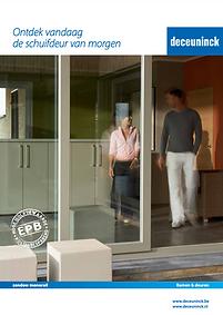 PVC Ramen Brochure - Schuiframen monorail