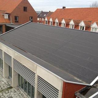 PIR-isolatie en Rhepanol - school Zoerle-Parwijs