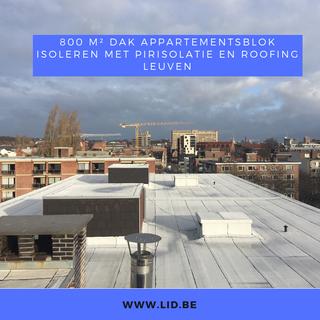 Isoleren met PIR-isolatie en roofing