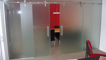 glazen schuifdeuren Glaswerken Wintermans Herentals actief in Kempen