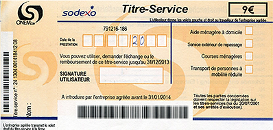 Titres-Services Sodexo tournai