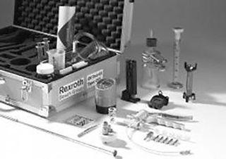 Mobiele hydraulische Olie analyse technologie - Mobiele hydraulica