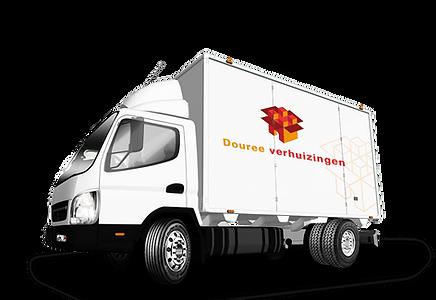 Verhuiswagen Verhuizingen Dourée