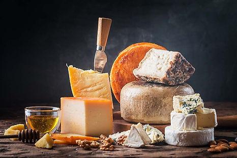 Les différents types de fromage